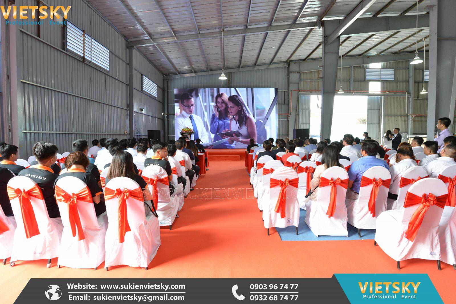 tổ chức lễ khánh thành nhà máy chuyên nghiệp tại bình dương