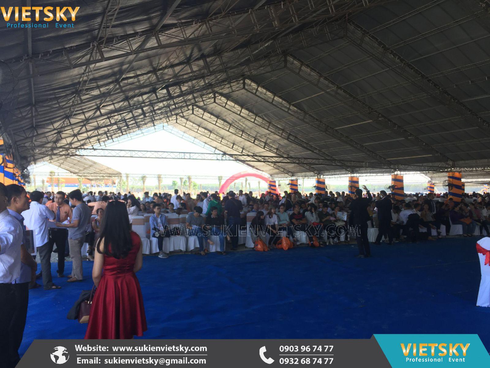 tổ chức lễ mở bán chuyên nghiệp tại đồng nai