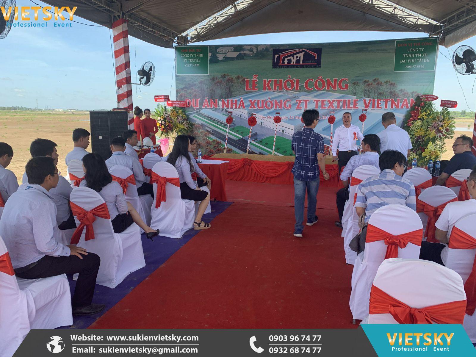 tổ chức lễ khởi công chuyên nghiệp tại bình phước
