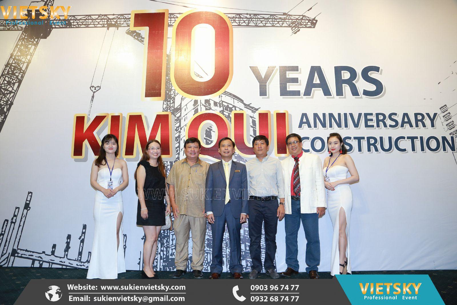 công ty tổ chức lễ kỷ niệm cho công ty tại vũng tàu