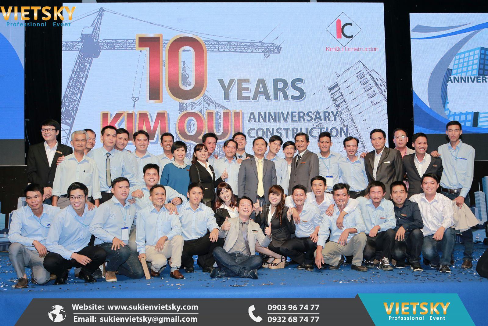 tổ chức lễ kỷ niệm cho công ty tại bình phước