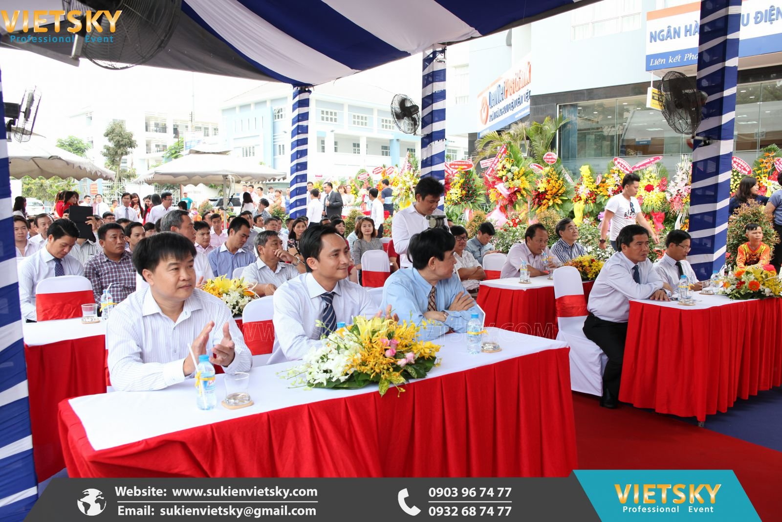 tổ chức lễ khai trương giá rẻ tại đồng nai