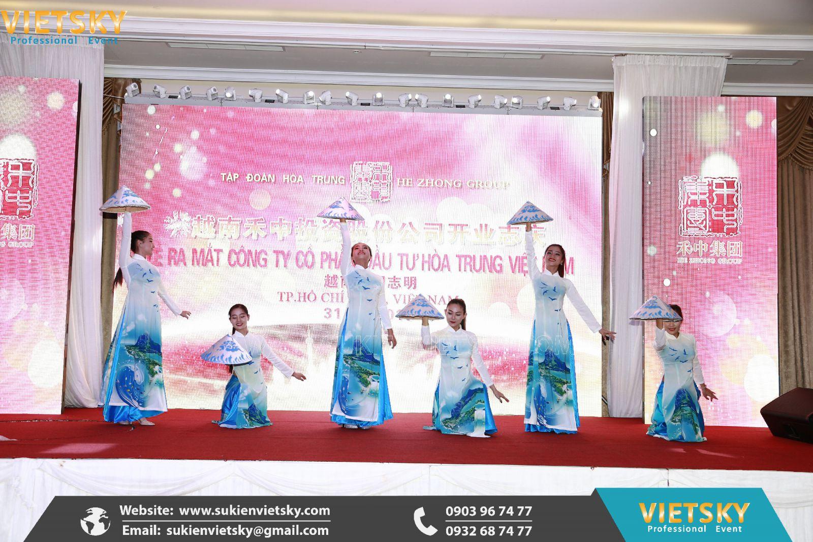 dịch vụ tổ chức lễ ra mắt công ty tại hcm