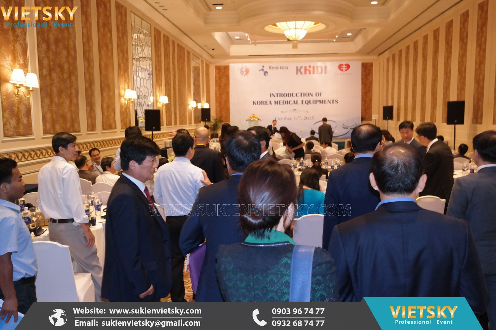 tổ chức hội thảo tại long an