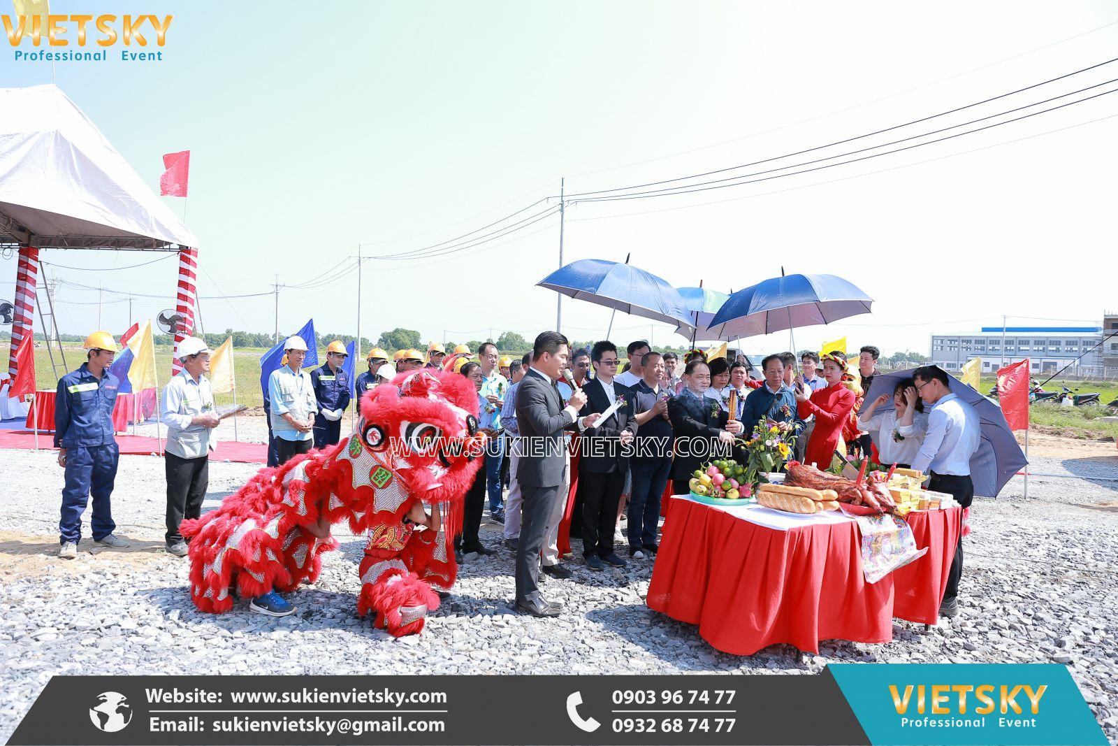 dịch vụ tổ chức lễ khởi công giá rẻ tại vũng tàu