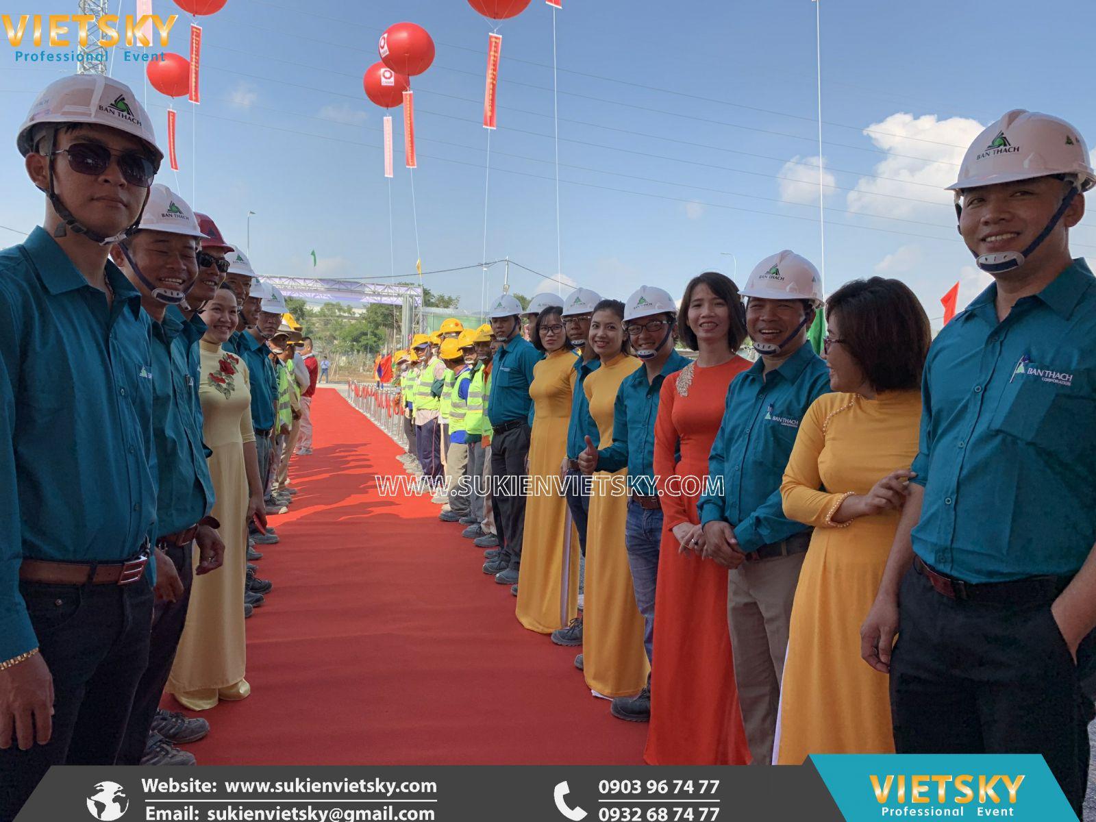 tổ chức lễ khởi công chuyên nghiệp tại hcm
