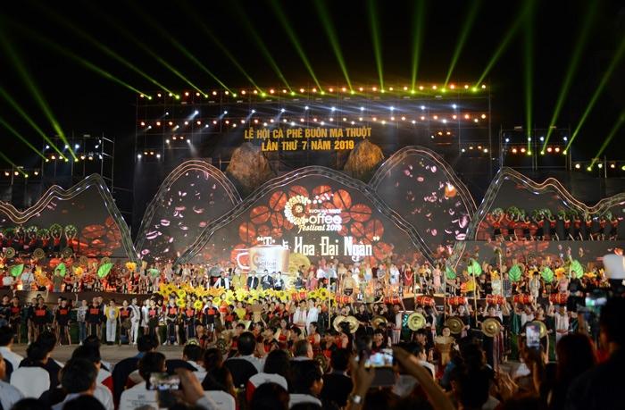 Khai mạc Lễ hội cà phê Buôn Ma Thuột